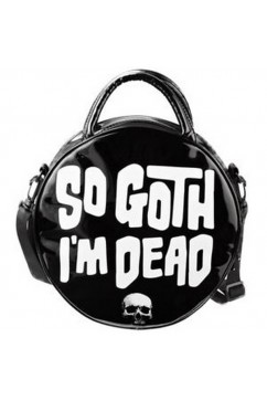 So Goth I'm Dead Handbag Killstar