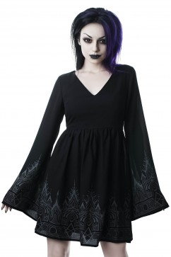 Duchess Mourning Dress Killstar