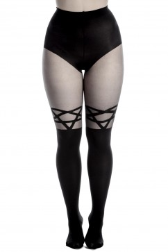 Elodie Edge Tights Killstar
