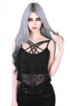 Deadly Beloved Lace Vest Killstar