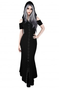 Blazing Maxi Dress Killstar