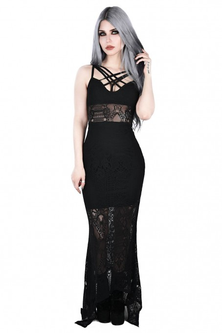 Deadly Beloved Maxi Dress Killstar