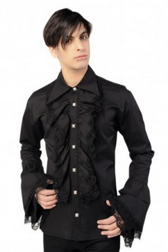 Riffle Shirt Denim (black) Aderlass