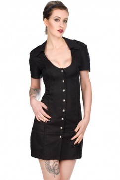 Military Dress Denim (black) Aderlass