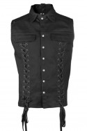 Eye Vest Denim Black Pistol