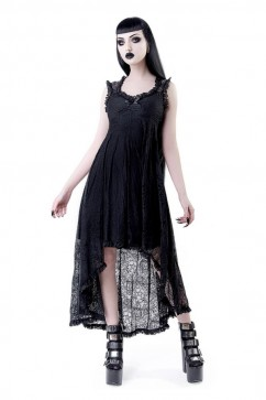 Willow Lace Maxi Dress Killstar